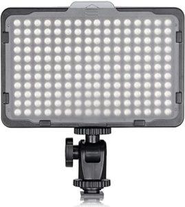 Éclairage LED pour tournage vidéo